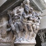Photo of Saint-Guilhelm Cloister column